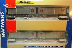 Nib Ho Walthers #932-23922 Flexi-van Wagon Plat / Remorques Wilwaukee Route 2 Pk