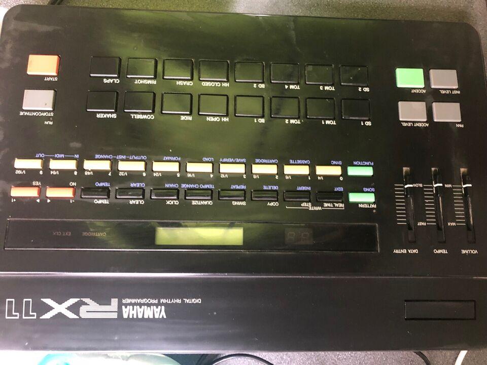 Trommemaskine, Yamaha Rx11