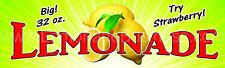 Lemonade Burst Bottom Banner 3x10 Largest Size
