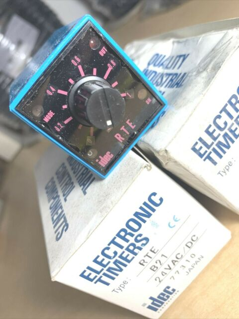 IDEC Rte-b21 Electronic Timer Relay RTEB21 for sale online
