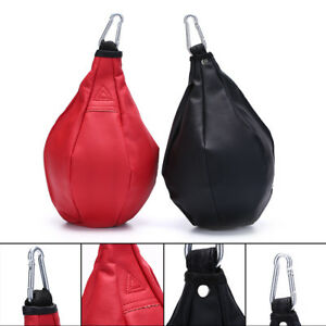 Boxeo-pera-forma-PU-Speed-Ball-giratoria-Punch-bolsa-de-perforaciQA