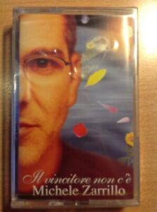 MICHELE-ZARRILLO-IL-VINCITORE-NON-C-039-E-039-MUSICASSETTA-NUOVA-INCELOFANATA