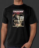Creepshow Classic Cult Horror Comedy 80s Movie Black T-shirt
