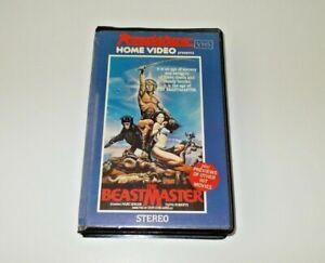 The-Beastmaster-VHS-Pal-Roadshow-Big-box-ex-rental-Original-case