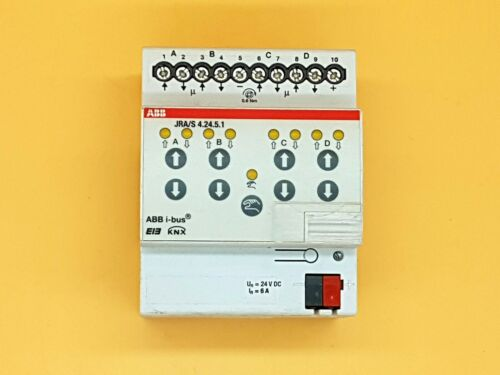 ABB i-bus KNX EIB JRA//S 4.24.5.1 Jalousieaktor 4fach 24VDC