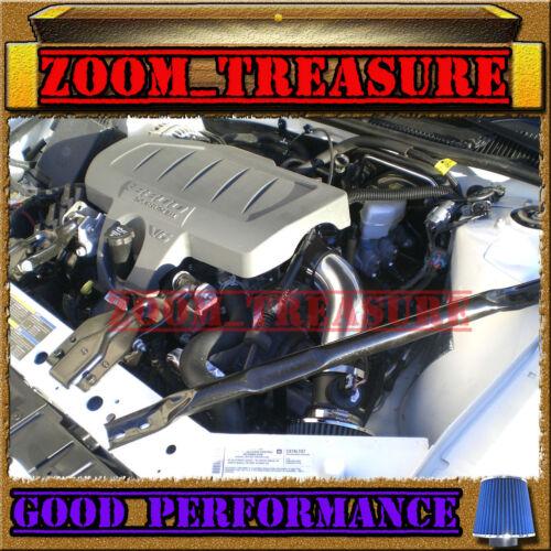 BLACK BLUE 2004-2008 PONTIAC GRAND PRIX GT GT1//2 GTP GXP V6 V8 AIR INTAKE KIT TB
