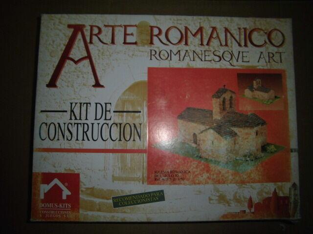 Domus Kit Iglesia Romanica Arte Romanico 1/50