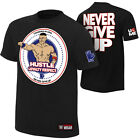 WWE AUTHENTIC JOHN CENA HUSTLE LOYALTY RESPECT T-SHIRT M L XL 2XL FREE SHIPPING