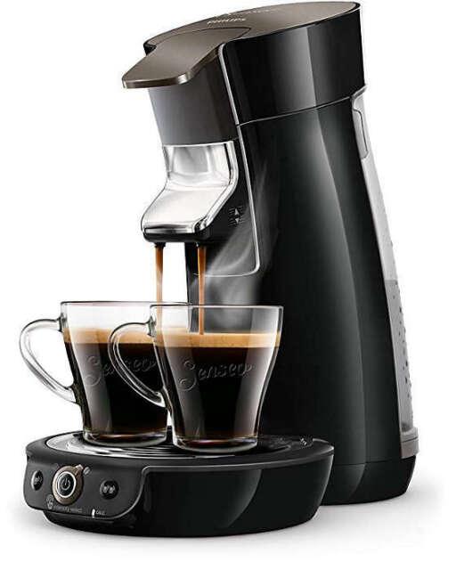 PHILIPS Senseo Viva Café HD6564/60 Kaffeepadmaschine 1450 Watt