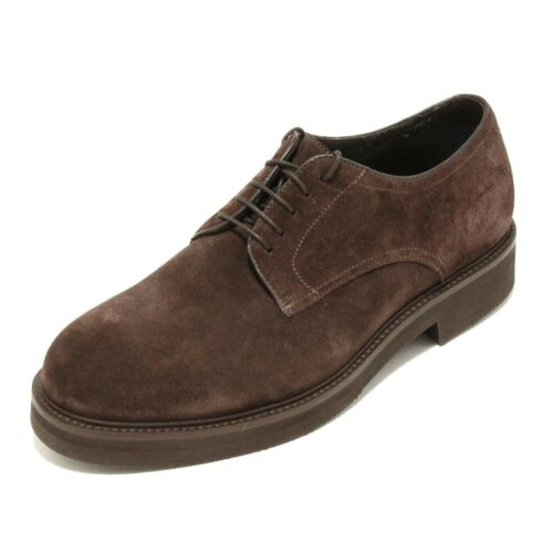 2140G scarpa marrone CARACCIOLO 1971 DERBY uomo shoes men