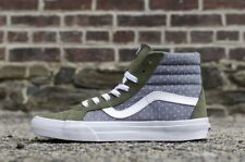 1a1794f53b item 6 Vans Sk8 Hi Reissue (Chambray Dots) Green Insignia Blue Men s Shoes  SIZE 11 -Vans Sk8 Hi Reissue (Chambray Dots) Green Insignia Blue Men s  Shoes SIZE ...