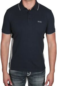 3271c4696 Hugo BOSS Men's Polo Shirt Paddy 4 Short Sleeve 50392685 410 Navy ...