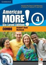 American More! Six-Level Edition Level 4 Combo with Audio CD/CD-ROM, Lewis-Jones