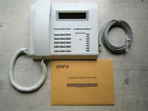Digitales Systemtelefon Unify Siemens OpenStage 15 T ice blue