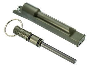 1 En 3-flint Rod Fire Starter Striker Intégré Sifflet & Anneau Vert-afficher Le Titre D'origine SuppléMent éNergie Vitale Et Nourrir Yin