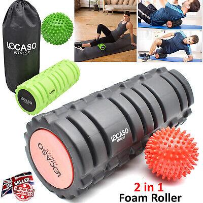 100% Wahr Foam Roller With Carry Bag Deep Tissue Muscle Massage Trigger Point Therapy QualitäT Und QuantitäT Gesichert