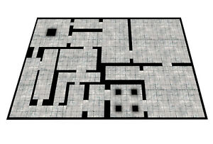 Modular-Dungeon-Mat-Gaming-Mat-dnd-D-amp-D-roleplay-RPG-battle-pathfinder-Dragons