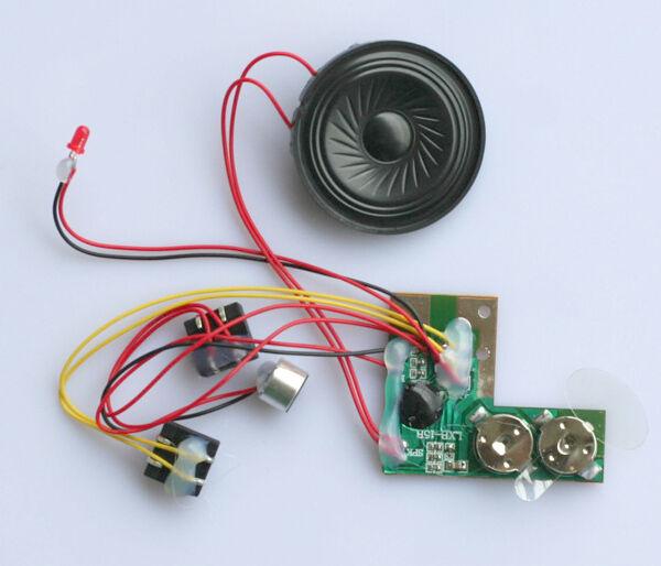 5x Decoder Sound Aufnahme Geräusch Modul mit Lautsprecher