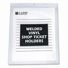 C-Line Vinyl Seal Shop Ticket Holder - 80912
