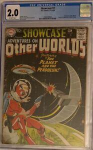 1958-SHOWCASE-17-1st-appearance-of-ADAM-STRANGE-CGC-2-0-OWP