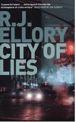 Streng R J.ellory __ City Of Lies __brandneu__portofrei Uk Moderate Kosten Bücher