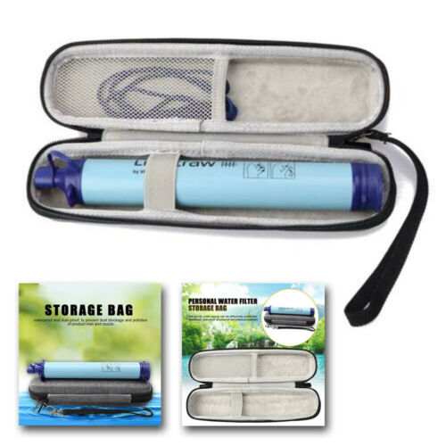 Portable Straw Kettle Bags Carrying Bag For LifeStraw Life Straw Water Purifier.