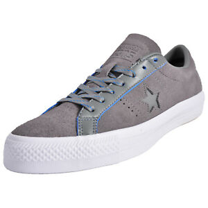 ce34b3f765 Details about Converse One Star Pro Ox Classic Retro Vintage Suede Leather  Uni Trainers