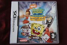 Sponge Bob und seine Freunde durch dick und dünn Deutsch Nintendo DS u. Handbuch