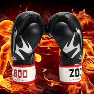 ZOOBOO-Leder-Boxen-MMA-Sparring-Boxsack-Muay-Thai-Training-new