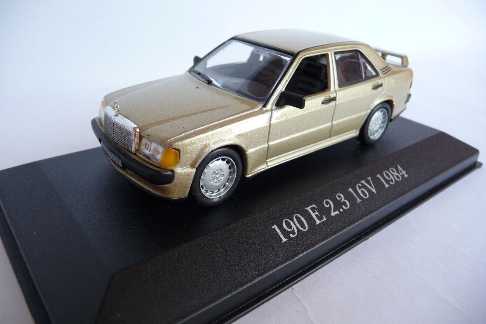 Altaya 1 43 Mercedes Mercedes Mercedes 190E 2.3 16V gold 1984 2944c6