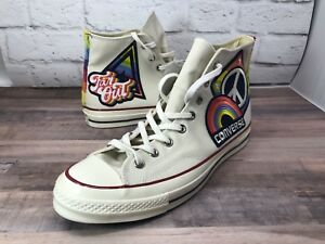 7fc154a0be6a4c Converse Chuck Taylor All Star Pride Parade Peace Rainbow 158420C ...