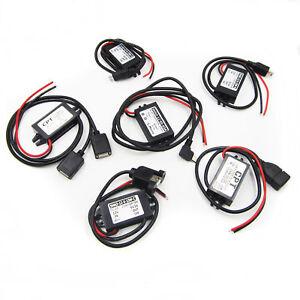 USB-DUAL-Convertitore-Regolatore-STEP-DOWN-moudle-corrente-continua-12V-a-5V-Mini-Micro-un-tipo