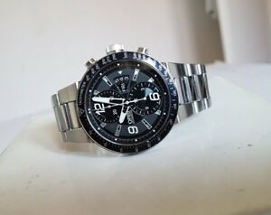 b8a906276b9 Image is loading Oris-WilliamsF1-Team-Chronograph-Day-Date-Dial-watch-