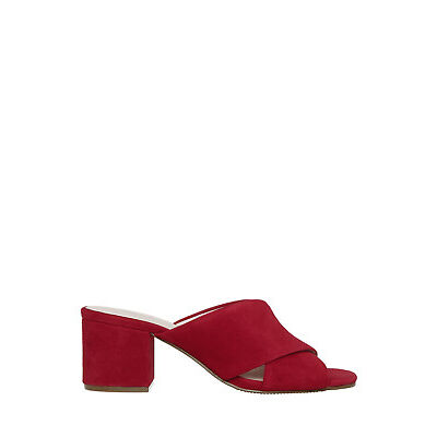 NEW Basque Tango Red Suede Sandal