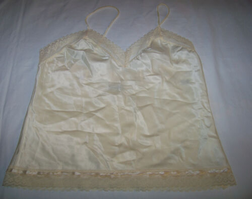 Vintage Christian Dior Intimates White Lace Camiso