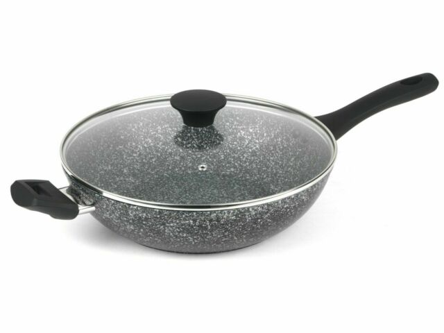 SALTER Frying Megastone GOLD Collection 24cm Fry Pan Non Stick NEW