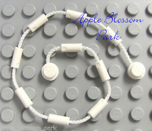 NEW Lego Minifig WHITE CLIMBING ROPE VINE Web String-Poison Ivy Batman Spiderman