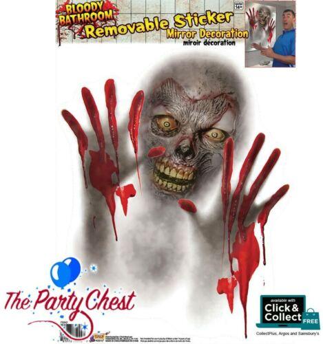 Zombie Miroir Autocollant Maison Hantée Halloween Party Décoration s/'accrochent Forum 75042