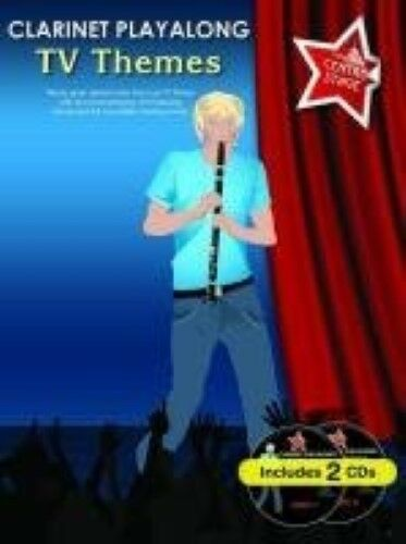 Clarinet Playalong TV Themes Book & CD (You Take Centre Stage), New Books