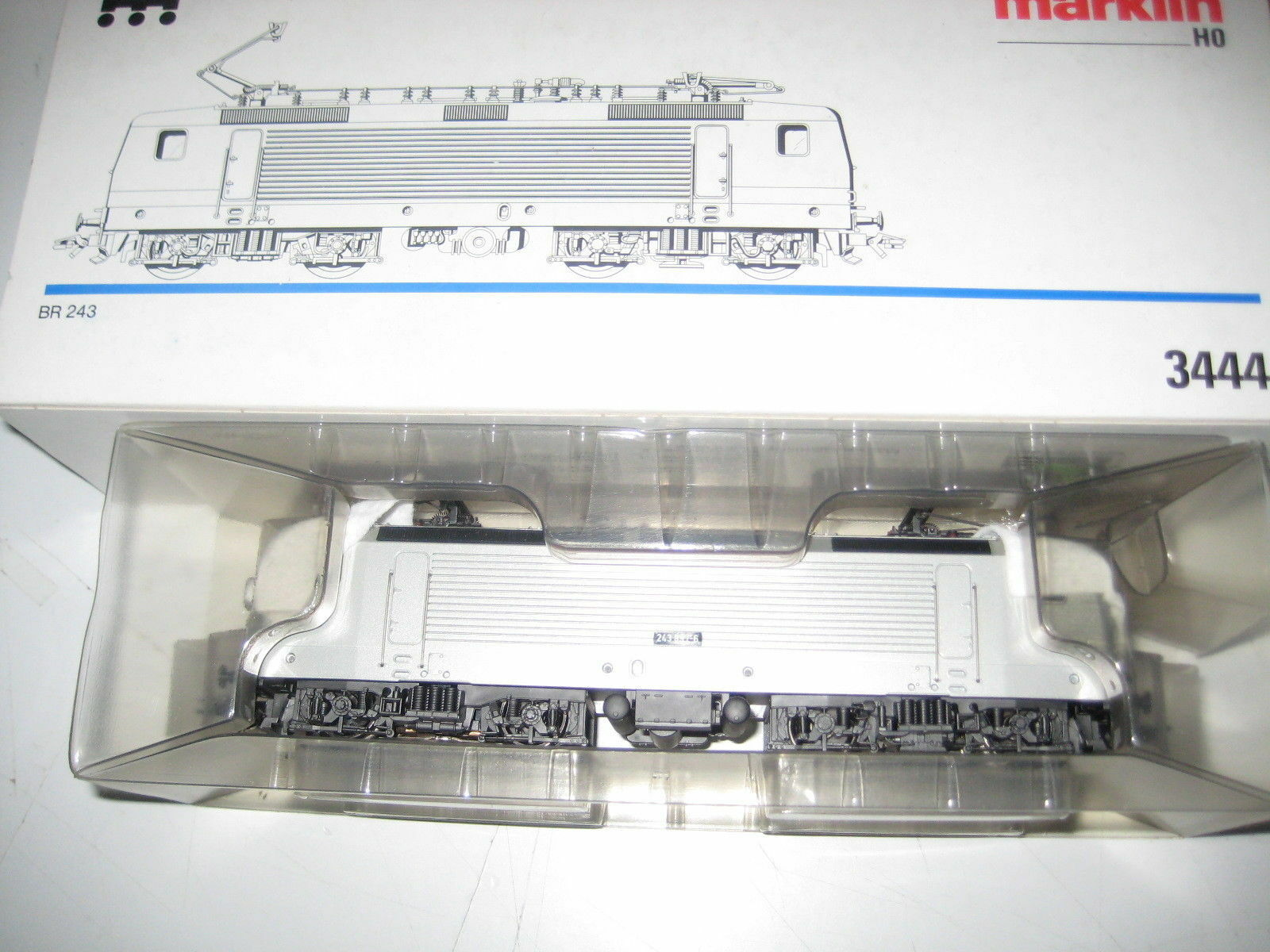 Marklin HO Locomotive and-Loc 243897-6 Art. 3444