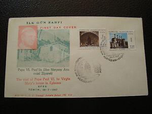 Turkey-Envelope-1er-Day-26-7-1967-cy16-Turkey-A