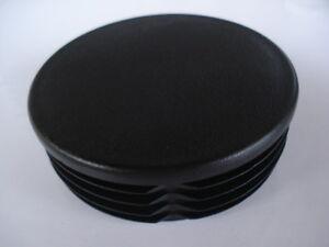Lote-de-2-conectores-para-el-tubo-redondo-diametro-64mm-tope-aleta-PVC-obturador