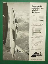 1977-79 PUB AERONAUTICA AERMACCHI AVION MB-339 MILITARY JET TRAINER ORIGINAL AD