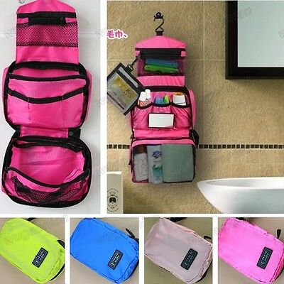 Useful Travel Cosmetic  Toiletry Purse Holder Beauty Wash Bag Organizer Hanging