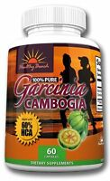 100% Pure Garcinia Cambogia Extract 60% Hca Weight Loss Diet Pills