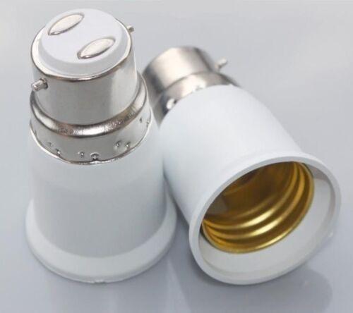E27 Glühbirne Sockel Beleuchtung 1 Adapter Buchse B22