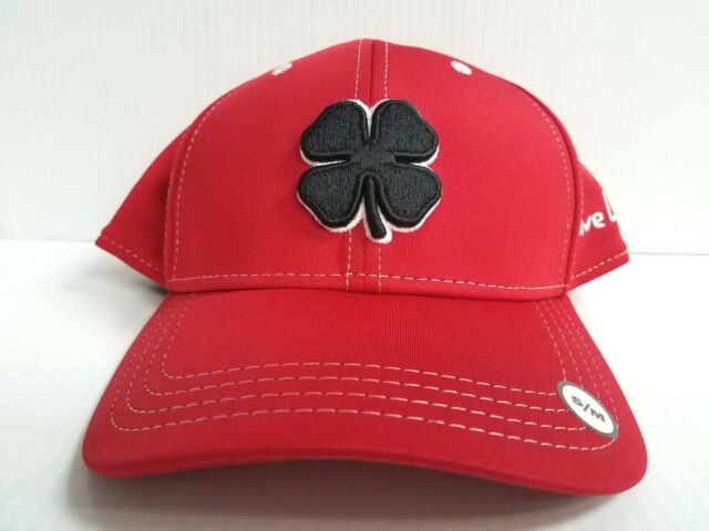 2d97da47533 Buy Black Clover Cap BC Style 29 Luck Stretch Fit Red Golf Hat Live ...