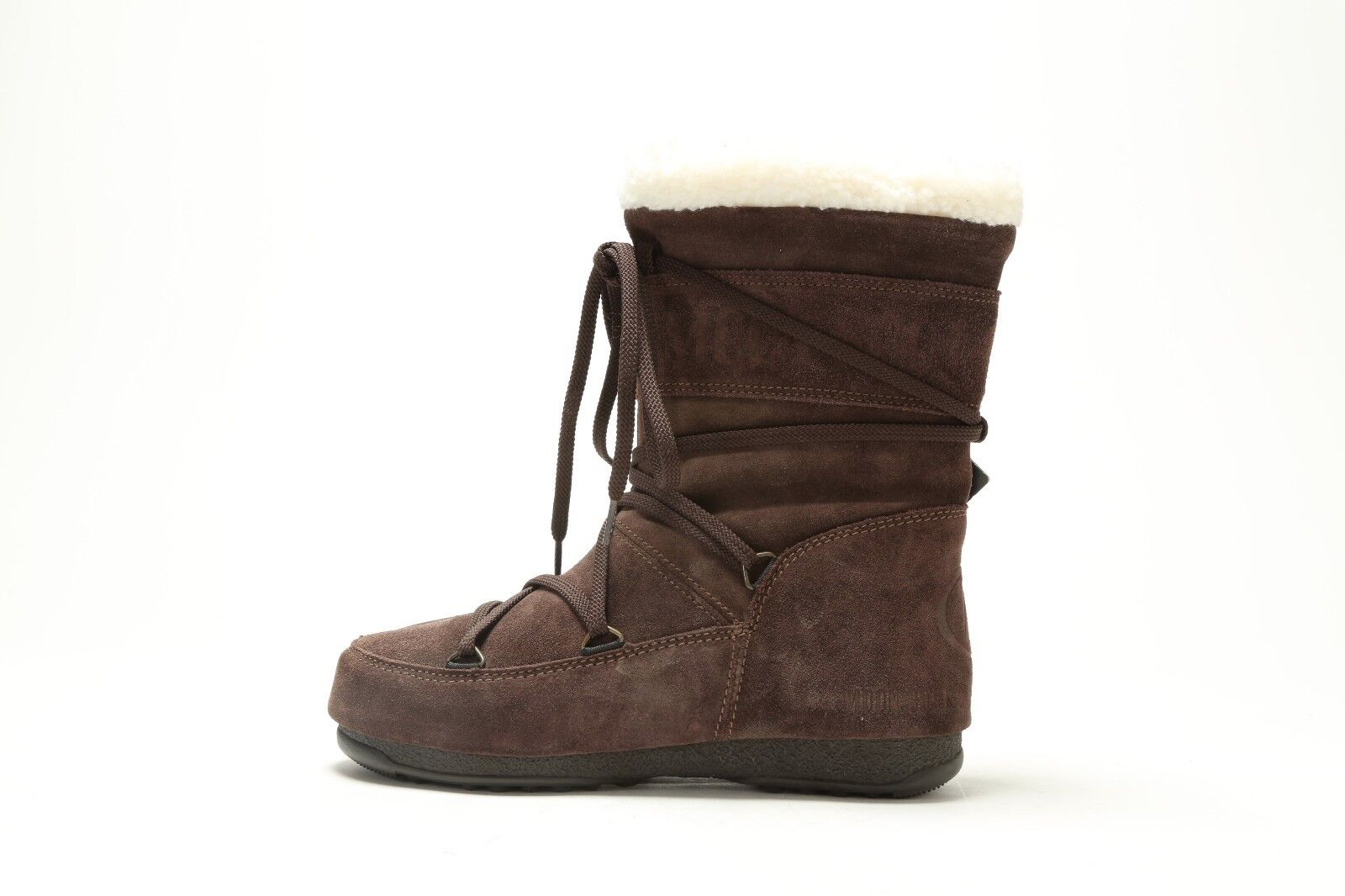 NEW WOMEN'S TECNICA BUTTER MID MOON BOOT 14015700002 DARK BROWN MSRP  150