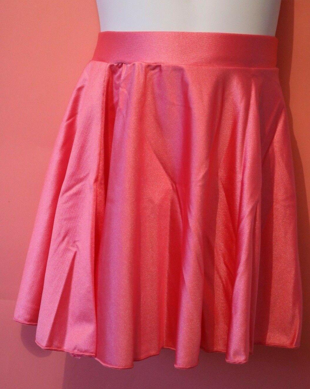 Adagio Pink Circular Skirt Large Nylon Lycra NEW