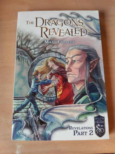 The Dragons Revealed by Matt Forbeck (Paperback, 2006) Revelations Part 2 -New